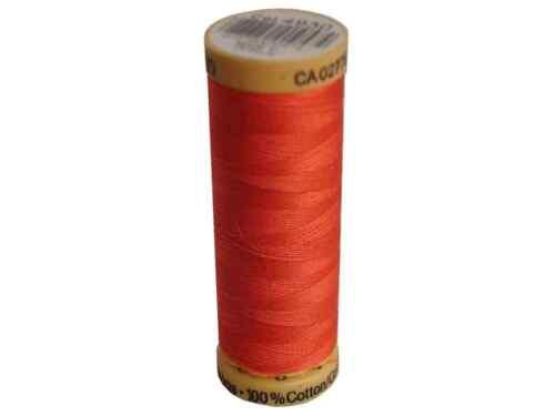 Bright Coral 100/% Cotton Thread 4930