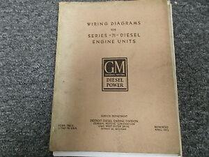 detroit diesel gm 3 71 4 71 6 71 series 71 electrical wiring rh ebay com detroit diesel 4-71 series manual pdf detroit diesel 71 series manual pdf