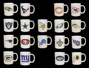 Classic-Coffee-Cup-Mug-NFL-Football-AFC-NFC-Logo-Design-Select-Your-Team