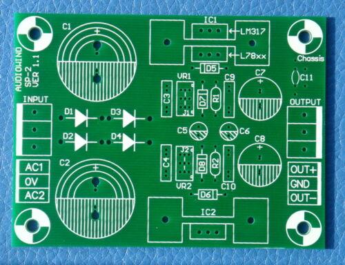 1PCS Voltage Regulator PCB for LM317//LM337 or 7800//7900