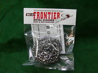Big 45 Frontier Metal-bore Cleaner Pads 'removes Rust Leaves Bluing' One Pad (1)