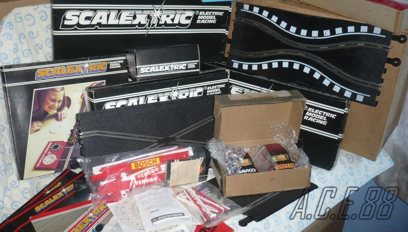 Classic Scalextric 200 set C.559 bundle lot Shadow UOP Metro C160 C151 C178 C248