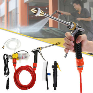 DC-12V-100W-160PSI-High-Pressure-Car-Washer-Cleaner-Water-Wash-Pump-Sprayer