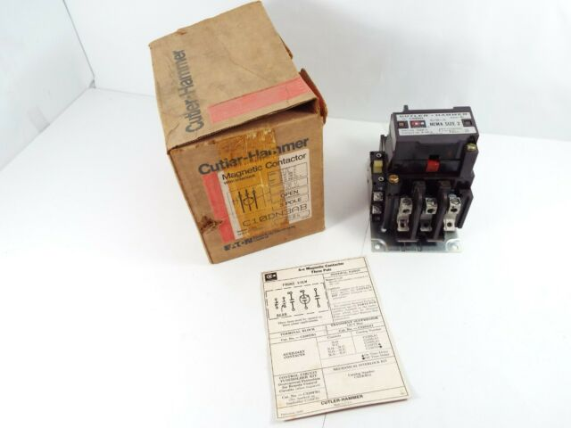 Cutler Hammer C10DN3AB Magnetic Contactor
