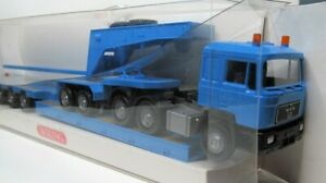 Wiking-1-87-Man-24-462-DFS-tiefladesattelzug-OVP-505-01-luz-azul-f-90