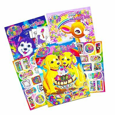 - Lisa Frank Coloring Book And Stickers Super Set (3 Books With Over 30 Lisa  Fr... 600292681712 EBay
