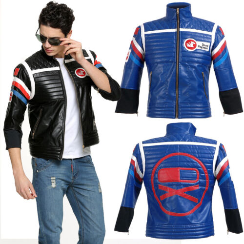 My Chemical RomanceGerard Way Party Poison Blue Version Jacket Costume Cosplay