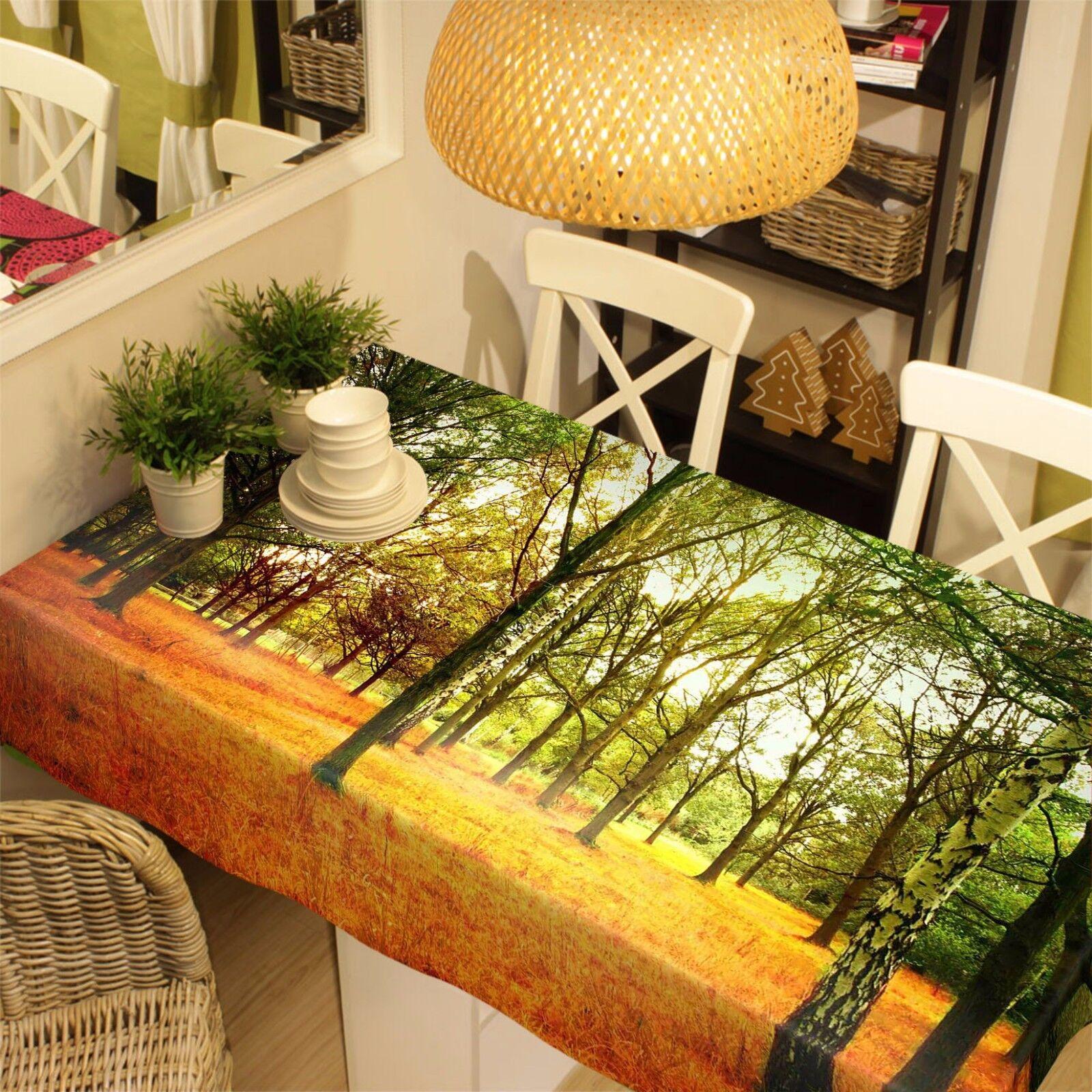 3D Bois 728 Nappe Table Cover Cloth Fête D'Anniversaire événement AJ papier peint UK