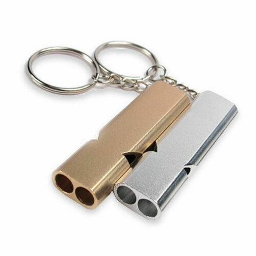 Emergency Survival Safety Loud Whistle Outdoor Camping Hiking Keychain Tool Kits