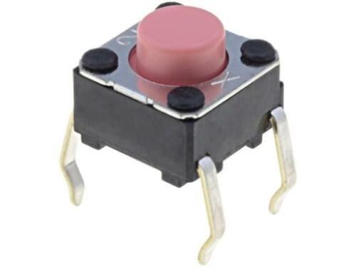 10x B3F-1025 Mikroschalter TACT SPST-NO Schaltstellungen 2 0,05A//24VDC OMRON