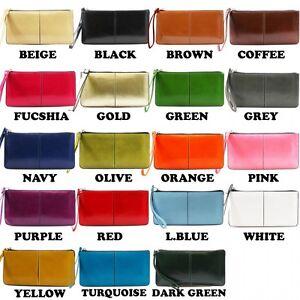 femmes-cuir-synthetique-Porte-feuille-Dragonne-Porte-monnaie-handbagcard-support