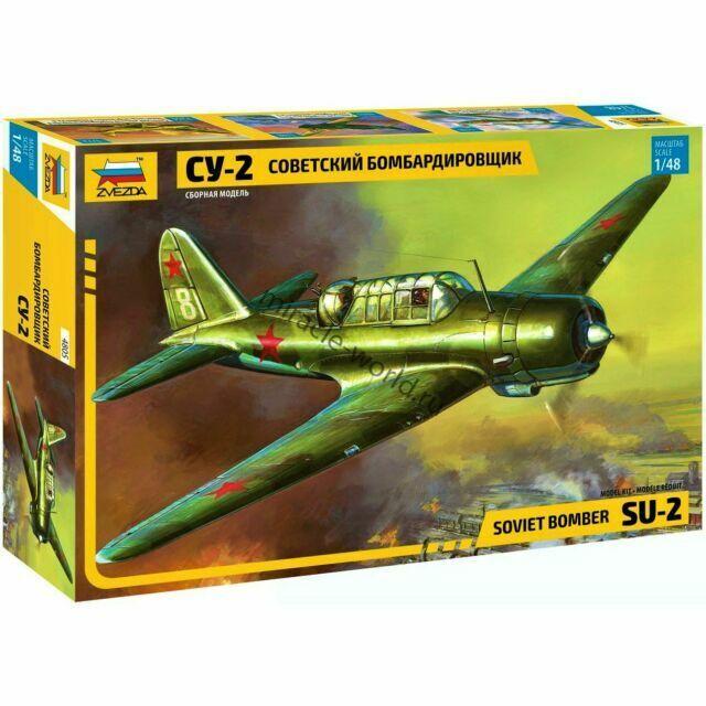 Model zvezda 4805 1//48 SU-2 Soviet light bomber