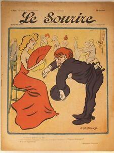 Revue-le-Sourire-N-107-1901-caricature-satyre-ill-Bertrand-Guerin