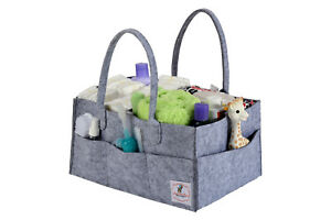 Portable-Diaper-Caddy-and-Baby-Wipes-Storage-Organizer-Bin-For-Home-Nursery-Car