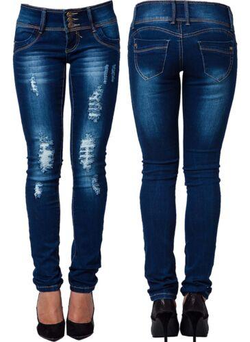 Womens Ladies Plus Size Denim Slim Fit Stretch Jeans Size 14 16 20 22 26 28