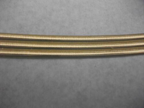 Rundstreifen 4 mm Kerze selbst gestalten Wachskunst Wachsornament gold
