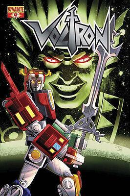 1:4 variant VOLTRON #4 1st print SEAN CHEN COVER DYNAMITE COMIC BOOK NICKTOONS