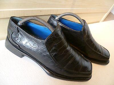 Herrenschuhe Verantwortlich Vtg Oliver Sweeney Full Leather Loafer Uk 7.5 41.5 Mens Sq Toe Croc Skin Effect Im Sommer KüHl Und Im Winter Warm Kleidung & Accessoires