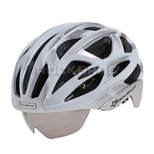 2015 Rockbros Cycling Mtb Road Bike Helmet With Glasses M