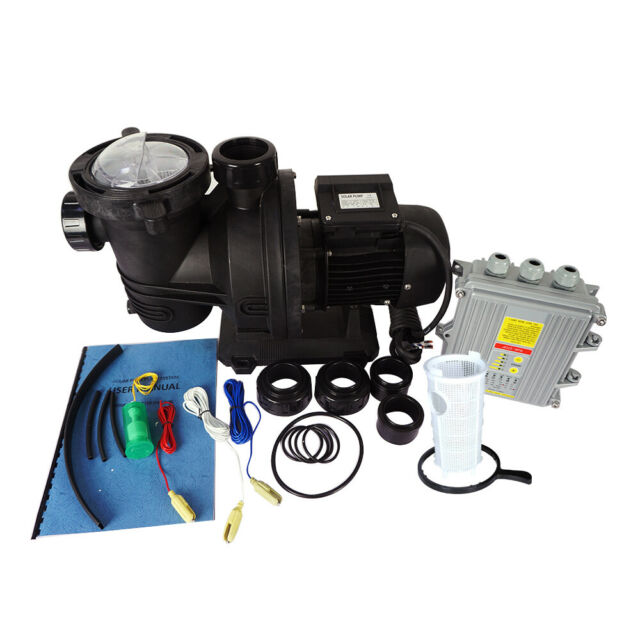 Efficient 500W Solar Variable Speed Pool Pump , Swimming Pool Pump,DC Motor 48V