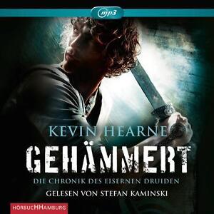 Die-Chronik-des-Eisernen-Druiden-3-Gehaemmert-MP3-CD-Hoerbuch-Kevin-Hearne
