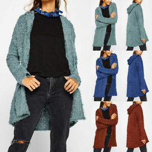 Womens-Long-Sleeve-Fluffy-Cardigan-Loose-Casual-Sweater-Outwear-Jacket-Coat-Tops