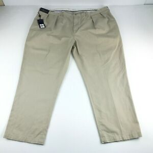 Polo-Ralph-Lauren-Classic-Pleated-Fit-Mens-Beige-Chino-Dress-Pants-48X30-98