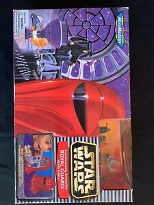 Star Wars Micro Machines ROYAL GUARD Transforming Action Set 1997 Galoob