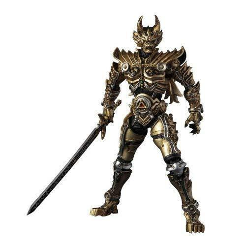 SIC Ultimate Garo Gold Knight action figure by Bandai
