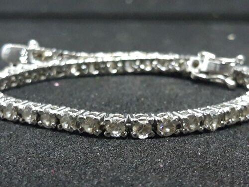 Bracciale tennis in argento 925 e zirconi bianchi Confezione regalo