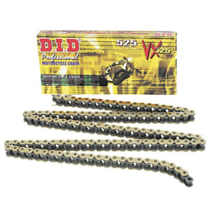 DID-PRO-STREET-525VX-124-X-RING-MOTORCYCLE-CHAIN-GOLD