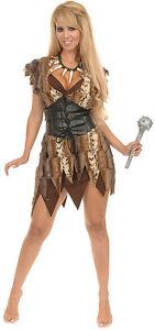 Luxury-CAVE-WOMAN-Jungle-Jane-Cozy-Soft-Faux-Fur-Prehistoric-COSTUME-Short-Dress