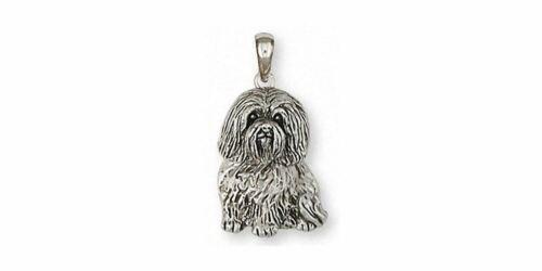 Havanese Pendant Jewelry Sterling Silver Handmade Dog Pendant HV42X-P