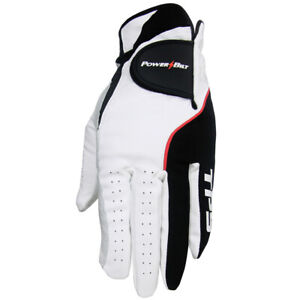 PowerBilt Golf Clubs TPS Cabretta Tour Gloves (3-Pack) NEW