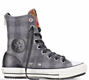 Converse Chuck Taylor Hi Rise Trainer Boot WOOLRICH