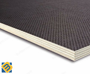 Anti Slip Mesh Phenolic Birch Plywood Sheets 12mm Trailer
