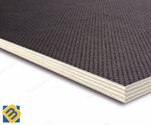 Anti Slip Mesh Phenolic Birch Plywood Sheets 12mm Trailer