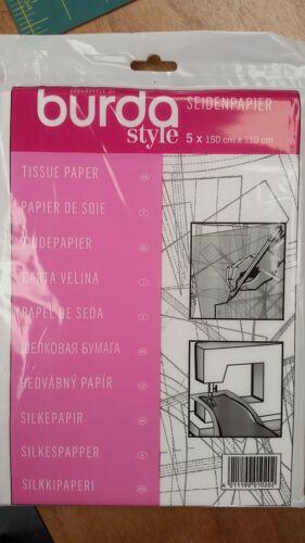 5 X 150cm X 110cm Burda Estilo-papel de tejido-papel de patrón