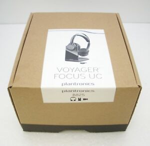 Plantronics Voyager Focus Uc B825 Stereo Bluetooth Headset Retail Packaging 17229147782 Ebay