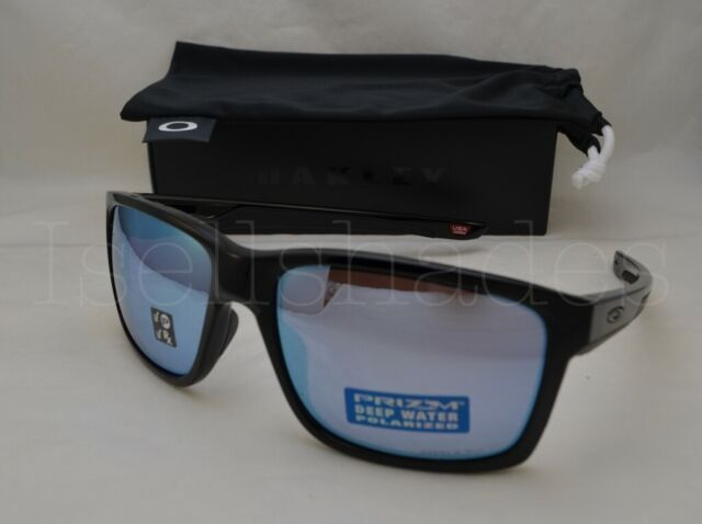 Oakley Mainlink Prizm >> Oakley Mainlink Xl Black Polarized Deep Water Blue Prizm Sunglass 9264 47 61