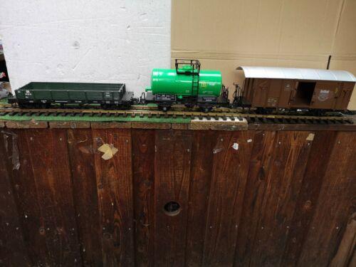 Für LGB   3 verschiedene Güterwagen NEWQIDA  brandneu in Box #b