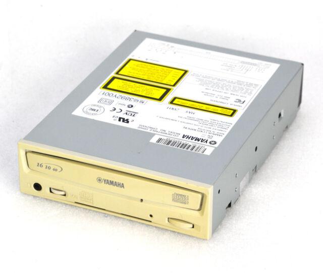 YAMAHA CRW 2100S SCSI 50 PIN CD-RW BURNER WRITER REWRITABLE DRIVE 40/16/10 CD120