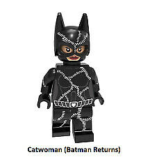 Character DC Comic Universe New Minifigure  Lego MOC Catwoman Batman Returns