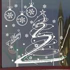 Wall sticker adesivo Christmas Tree vetrofania vetrina negozio albero Natale