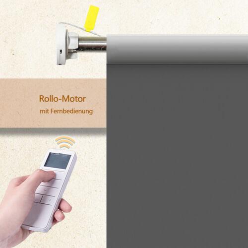 Rollomotor Rohrmotor Elektrisch mit Fernbedienung für Rollos Rolloantrieb