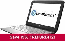 HP ChromeBook 11 G2 Intel Celeron N2840 2.16GHz 4GB 16GB Chrome OS