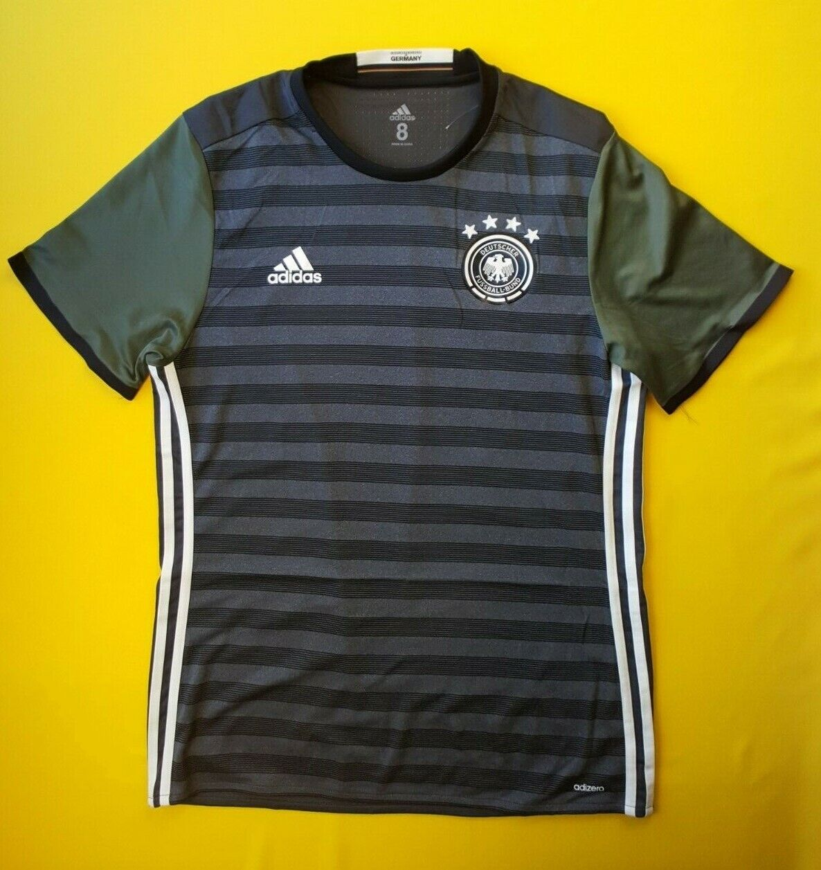 b26646986 5+ 5 Germany DBF authentic soccer jersey 2016 shirt BQ7492 Adidas football  ig93