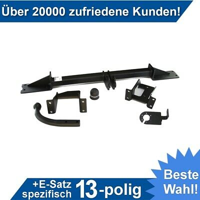 Anhängerkupplung starr Für Opel MERIVA 05.2003-05.2010+E-SATZ 13p SPEZIFISCH