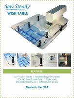 Bernina Sewing Machine Sew Steady Ultimate Wish Extension Table Package