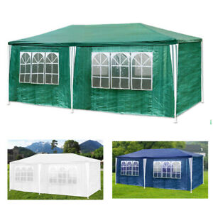 3x6m-Festzelt-PE-Gartenzelt-Pavillon-Partyzelt-Bierzelt-wasserdicht-Seitenteile